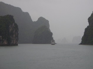 Wet Halong Bay