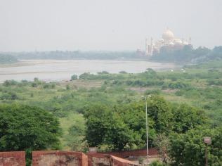 A distant Taj