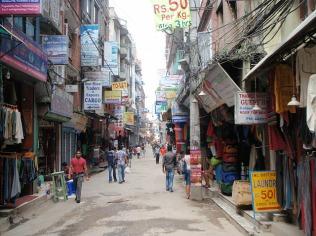 Old town Kathmandu