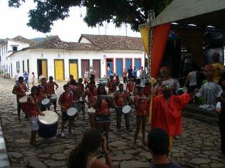 Pre carnival drumming