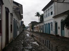 A wet street