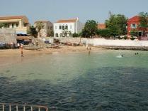 A wee island beach