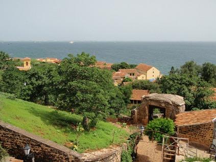 An island view