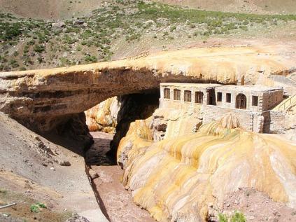 Old school hot springs