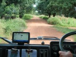 A typical Guinea road