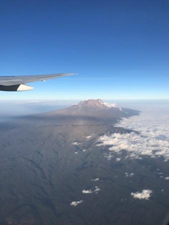 Plane view of Kili