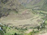 An Inca village