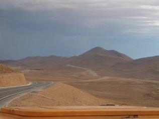 The Bolivian desert