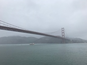 A less golden gate bridge