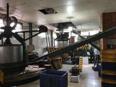 A tea factory