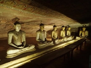 The Dambulla caves