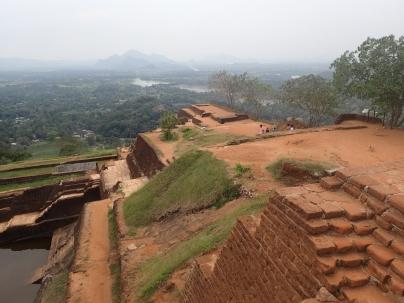Top of Sigiriya