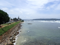 Galle and the sea