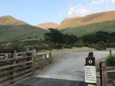 Starting Scafell Pike
