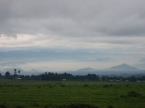 The famous misty mountains