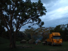 Camping in the National park