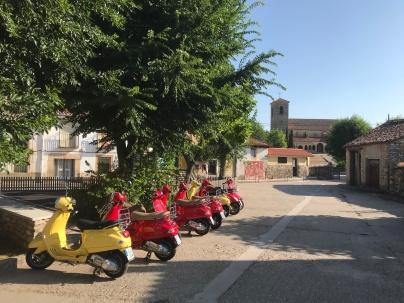 Spanish town square