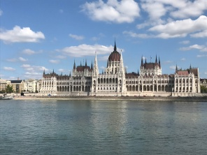 Houses of parliament Hungarian style