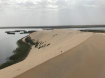 A sand dune