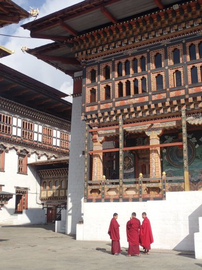 The local monks