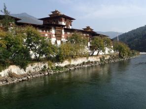 A grand Dzong