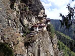 The Tiger's Nest straight on