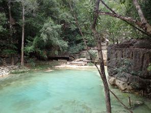 A cold pond