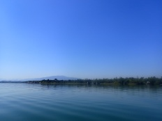 A super flat lake