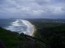 A long bit of beach